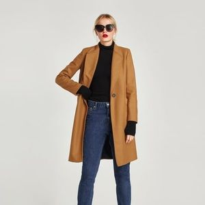Zara Masculine Wool Coat